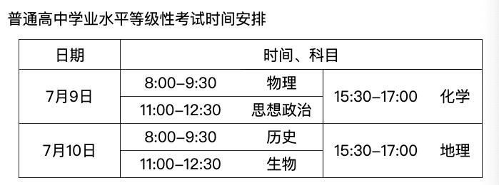 北京教育考试院 :2020年高考各时间节点明确