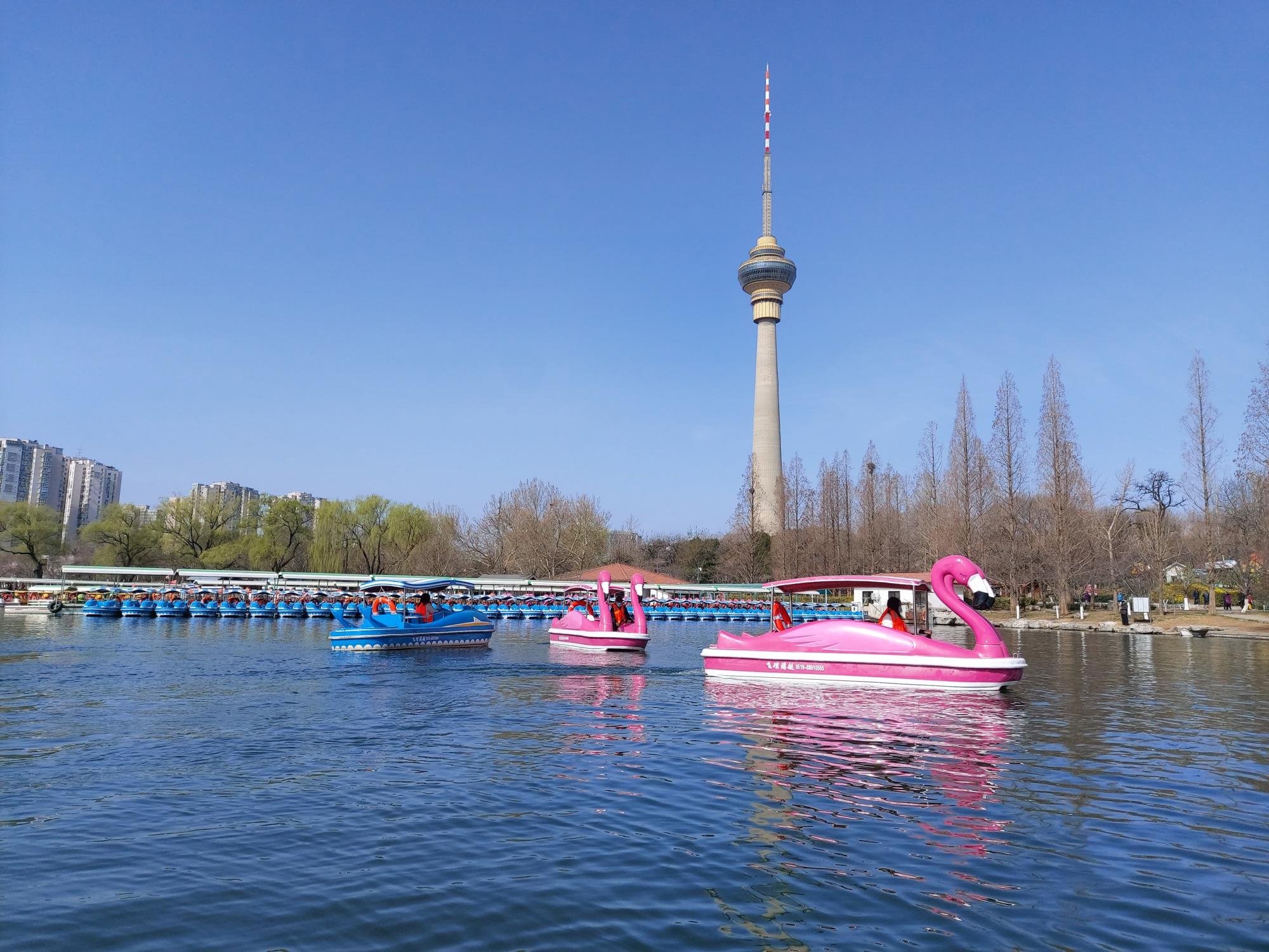 本周起,市属5家公园将陆续开放游船码头_北京日报APP新闻